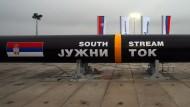 Russland gibt Pipeline-Projekt auf