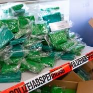 Kokainkonsum nimmt weiter zu: Polizei und Zoll stellten tonnenweise Kokain im Laufe des Jahres  sicher. (Archivbild aus München)