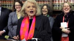 Homoehe-Aktivistin Edith Windsor gestorben