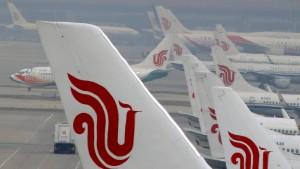 Air China warnt vor Ausländern in London
