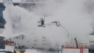 Wetterdienst und Flughafenbetreiber streiten über Prognosen
