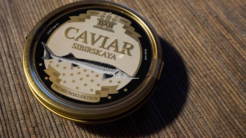 Buttrig-sahniger Geschmack: Beluga-Kaviar
