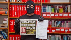 """Die """"Schmutzkampagne bei der SPD"""" ist wohl ein """"Titanic""""-Fake"""