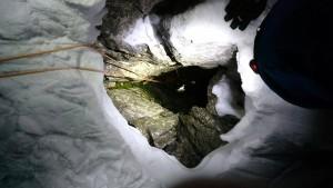 Bergsteiger nach vier Tagen aus Spalte gerettet