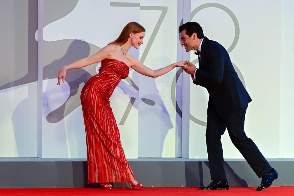 Die spielen nur: Jessica Chastain und Oscar Isaac in Venedig