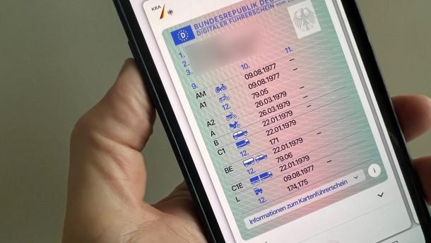 Warum sich die Einführung des digitalen Führerscheins verzögert
