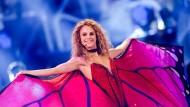 Leider sehr liebevoll: die Siegerin der Casting-Show Germany's Next Topmodel Simone Kowalski