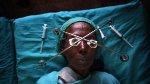 Kostenlose Operation für Erblindete