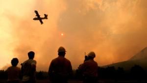 British-Columbia steht in Flammen