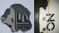 Auch diese bei Südafrika gefundenen Trümmerstücke zeigen laut Experten, dass der Pilot den Unglücksflug absichtlich herbeigeführt haben könnte.