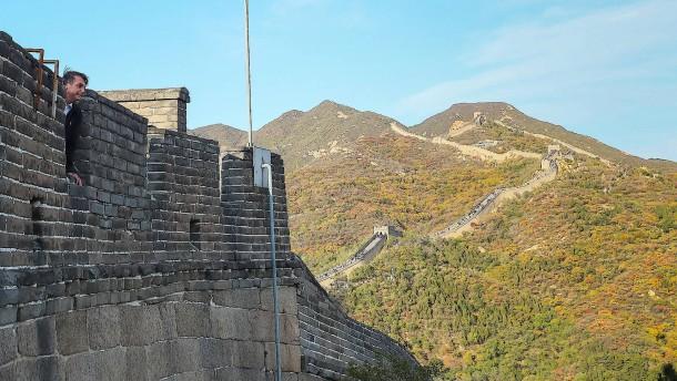 China schließt Abschnitte der Chinesischen Mauer