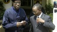 Bessere Zeiten: Vor sechs Jahren kam Wesley Snipes (links) nach Nigeria, weil er darüber nachdachte, in Nollywood zu investieren