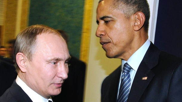 Warten auf Putin