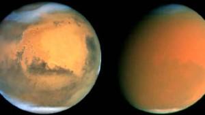 "Ein ""perfekter Sturm"" auf dem Mars"