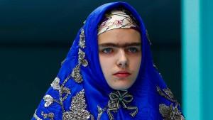 Models mit Kopftüchern