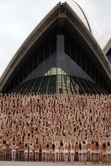 spencer tunick nackte