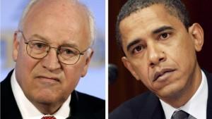 Unerwartete Verwandtschaft: Barack Obama und Dick Cheney