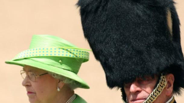 Geburtstagsparade für Königin Elisabeth II.