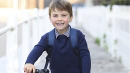 Prinz Louis feiert dritten Geburtstag nach Ablauf royaler Trauerzeit