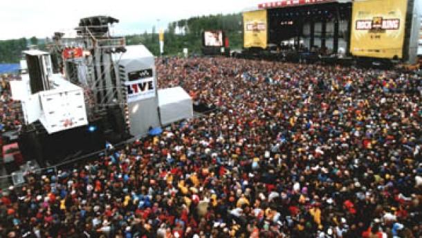 Am Ring, im Park: Pfingst-Festivals mit Mammut-Rock