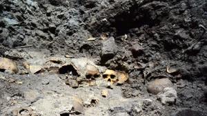 Azteken-Ruine mit menschlichen Schädeln entdeckt