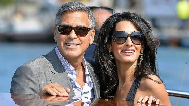 Clooney heiratet in Venedig