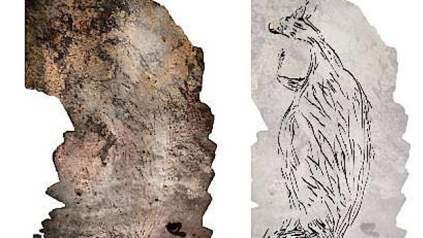 Australiens älteste Felsenmalerei zeigt großes Känguru