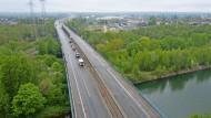Emschertalbrücke bei Herne in Nordrhein-Westfalen