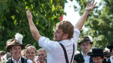 Träger der Bairischen Sprachwurzel: Stefan Dettl, der Kopf der Band La Brass Banda