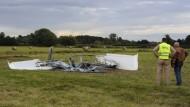 Vier Tote bei zwei Flugzeugabstürzen