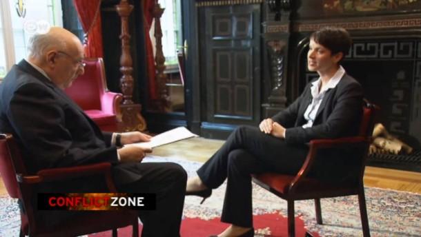 Interview mit Frauke Petry wird zum Netzhit