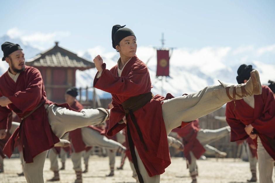 Kung-Fu-Training in Männerkleidern: Mulan muss sich verstellen, um das Kaiserreich zu retten.