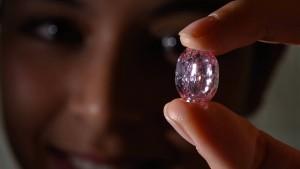 """""""Geist der Rose""""-Diamant verpasst bei Auktion geschätzten Höchstpreis"""