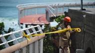Rios Olympia-Radweg stürzt ins Meer