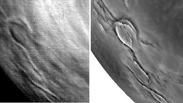 Suche nach aktiven Venus-Vulkanen