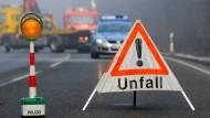 Beifahrer stirbt in Grebenhain - Dreher auf A66
