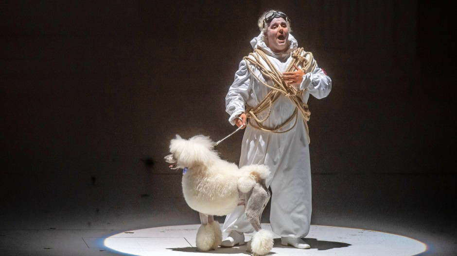Des Pudels Kern: Michael Spyres als Don Ottavio auf der Bühne des Großen Festspielhauses in Salzburg