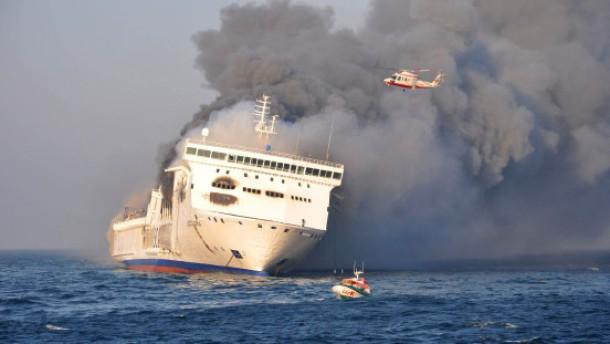 Brennender Lastwagen war Ursache für Feuer