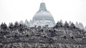 Der Kelud bedeckt große Teile Javas mit Vulkanasche