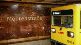 Bald kein Halt mehr an der Mohrenstraße