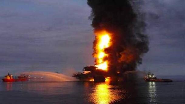 Vier Tote nach Explosion auf mexikanischer Ölplattform