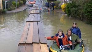 Entwarnung in den Hochwassergebieten