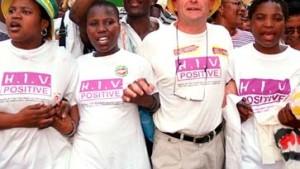 Proteste für billige Aids-Medikamente