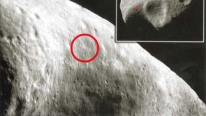 Harte Landung auf dem Asteroiden