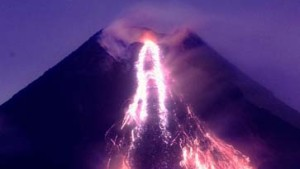 Vulkan Mayon beruhigt sich