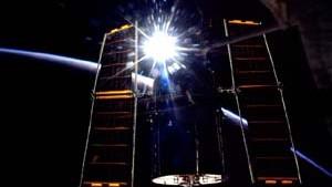 ISS-Astronauten kommentieren Sonnenfinsternis