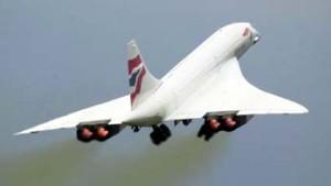 Concorde nach Testflug sicher gelandet