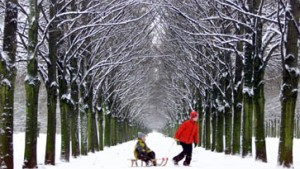 Wettervorhersage verheißt Weiße Weihnachten