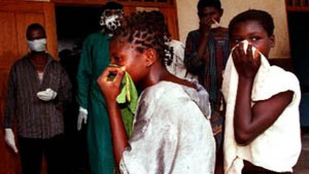 Neue Ebola-Angst in Afrika