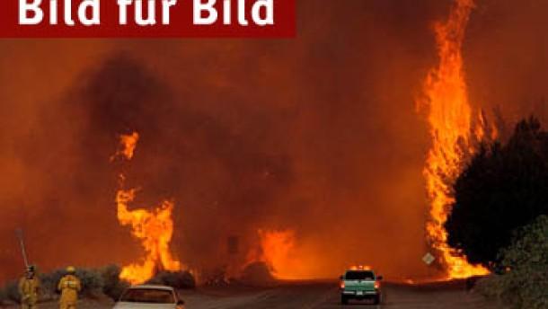 Tausende fliehen vor Großbränden in Colorado